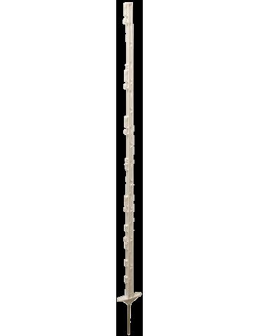 Kunststoffpfahl 155cm weiß