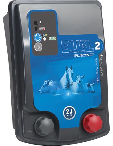 Dual D2 12V/230V 2 Joule
