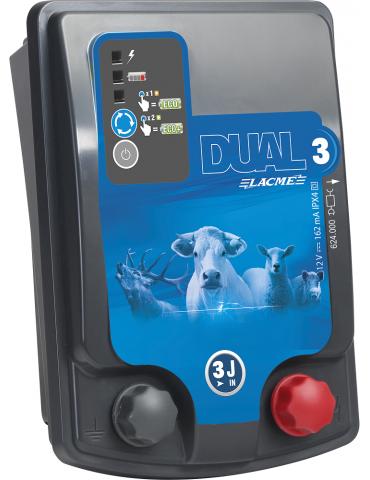 Dual D3 12V/230V 3 Joule