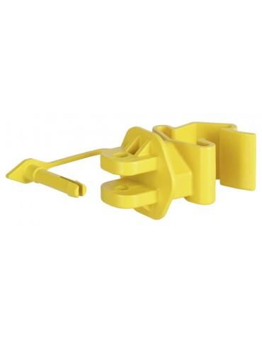 T-Post Pinlock-Isolator gelb